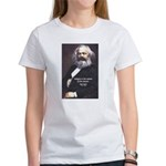 Karl Marx Religion Opiate Masses Women's T-Shirt