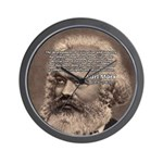Civilization and Marx Wall Clock