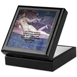 Rome Philosophy Lucretius Keepsake Box