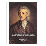 John Locke: Law of Love Small Poster