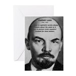 Capitalism and Lenin Greeting Cards (Pk of 10)