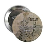 "Lao Tzu: Being One 2.25"" Button (10 pack)"