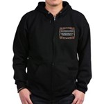 Enforce The Rules Zip Hoodie (dark)