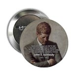 Man / War John F. Kennedy Button