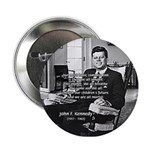 Humanist John F. Kennedy Button