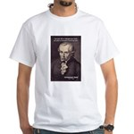 Universal Law: Kant White T-Shirt