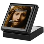 Jesus Peace and Love Keepsake Box