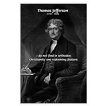 President Thomas Jefferson Large Poster