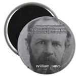 Prejudice William James 2.25&quot; Magnet (100 pack)