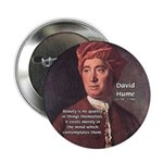 "David Hume on Beauty 2.25"" Button (10 pack)"