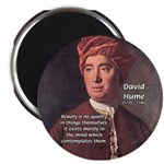 "David Hume on Beauty 2.25"" Magnet (10 pack)"