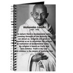 Gandhi Religion Non-violence Journal