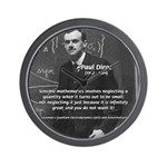 Paul Dirac Quantum Theory Wall Clock