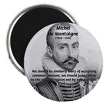 Individual Freedom Montaigne Magnet