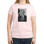 Politics George W. Bush Snr Women's Pink T-Shirt