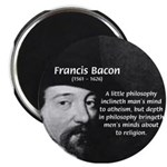 Philosopher Francis Bacon Magnet