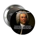 Glory God Music J. S. Bach Button