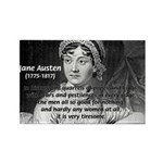 Women in History Jane Austen Rectangle Magnet