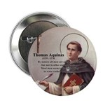 "Theology Thomas Aquinas 2.25"" Button (10 pack)"