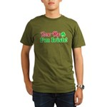 Bite Me I'm Irish Organic Men's T-Shirt (dark)