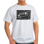 World War II Churchill Ash Grey T-Shirt