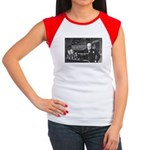 World War II Churchill Women's Cap Sleeve T-Shirt
