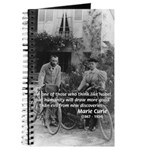 Marie & Pierre Curie Good Evil Journal