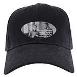 Marie Curie Physics Liberty Black Cap