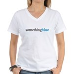 Something Blue Bride Women's V-Neck T-Shirt