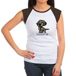 Chocolate Lab Women's Cap Sleeve T-Shirt