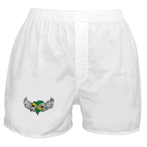 Jamaica Tattoo Boxer Shorts