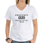Right Wing Mob Women's V-Neck T-Shirt