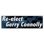Re-elect Gerry Connolly Congressional Bumper Sticker