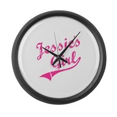Jessie's Girl Large Wall Clock