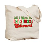 Christmas Edward Tote Bag
