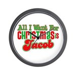 Christmas Jacob Wall Clock