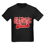 Christmas Jacob Kids Dark T-Shirt