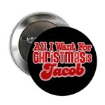 "Christmas Jacob 2.25"" Button"