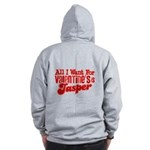 Jasper Valentine Zip Hoodie