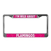 Flamingo License Plate Frames