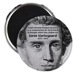"Irony Freedom of Speech 2.25"" Magnet (100 pack)"