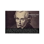 Immanuel Kant Reason Rectangle Magnet (10 pack)