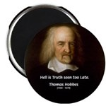 "Thomas Hobbes Truth 2.25"" Magnet (10 pack)"