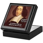 Spinoza Ethics Philosophy Keepsake Box