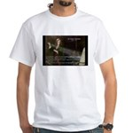 Isaac Newton Laws Motion White T-Shirt