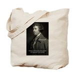 Edmund Burke: Good & Evil Tote Bag