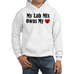 Heart Owning Lab Mix Hooded Sweatshirt