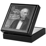 Nature Wordsworth Poetry Keepsake Box