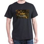 Roman Philosophers: Seneca th Black T-Shirt