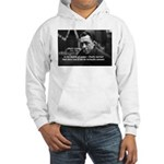 Albert Camus Motivational Hooded Sweatshirt